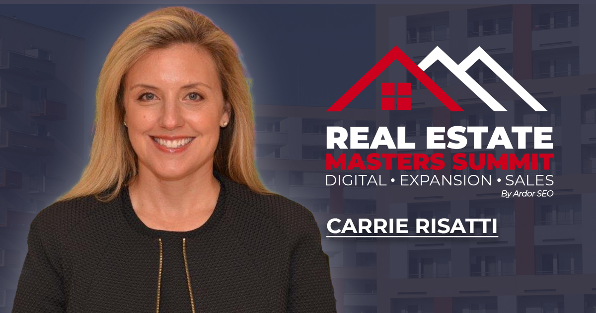 Carrie Risatti, real estate lawyer on the REMS background