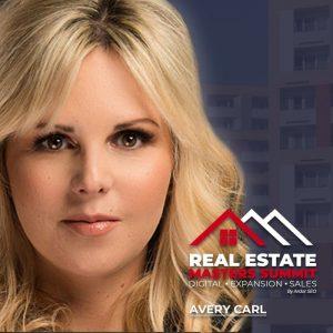 Avery Carl - Real Estate Masters Summit speaker