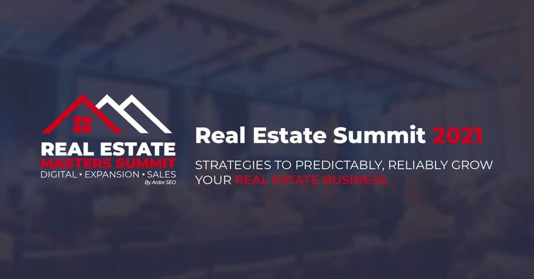 Real Estate Masters Summit 2021 – Updated Speaker List